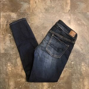 AE Size 4 SHORT Super stretch Jegging Jeans